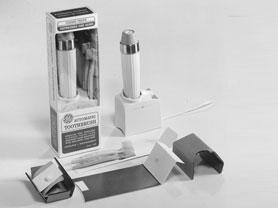 Esimene laetav elektriline hambahari General Electric