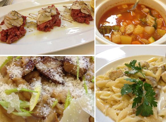 Francesco Sibio restoran ristorante menüü põhiroad