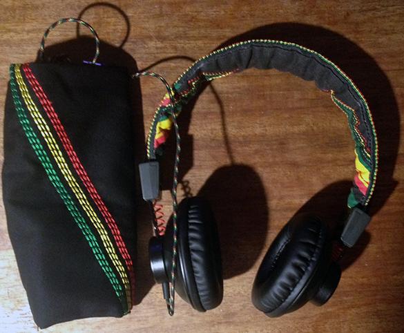 House of Marley EM-JH010-RA Positive Vibration rasta kõrvaklapid
