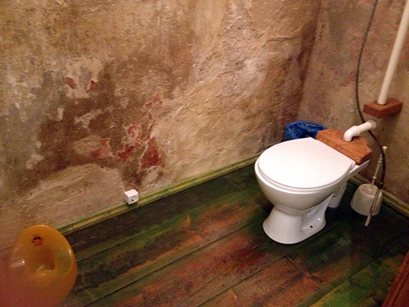 Põhjaka mõis restoran, tualettruum