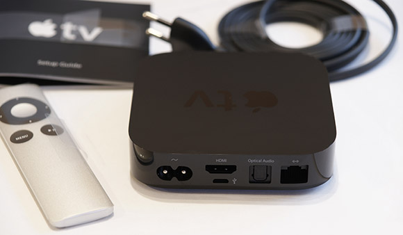 Apple TV komplektis sisaldub