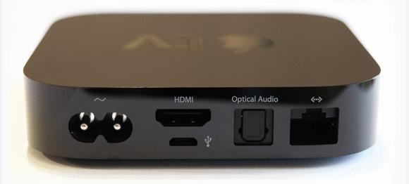 Apple TV ühenduspesad