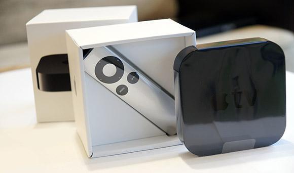 Apple TV komplekt lahtipakkimine