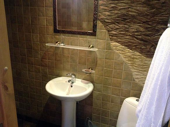 Haapsalu külalistemaja Beguta Guest House vannituba
