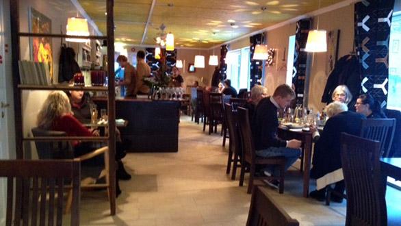Kohvik Restoran Diip sisekujundus