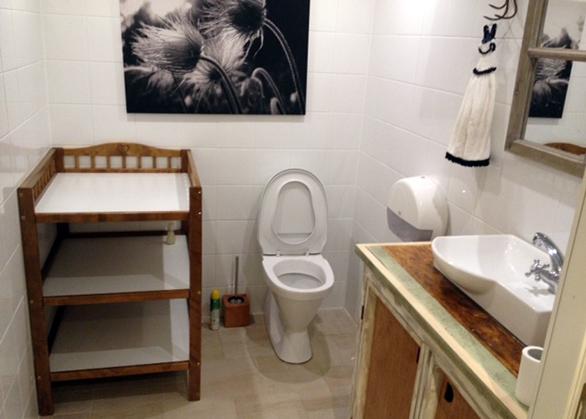 Kohvik Restoran Diip tualett, wc