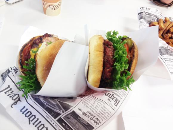 Diner Vabaduse pst, Nõmmel, burgerid