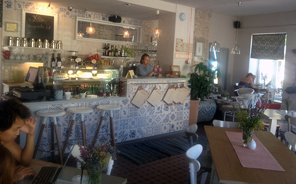 Hea kohvik restoran Viljandis Fellin sisevaade, interjöör