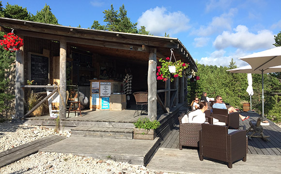 Hõbekala restoran Hiiumaal Kalanas, asukoht