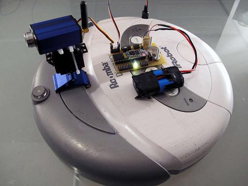 Robottolmuimeja iRobot Discovery kaameraga