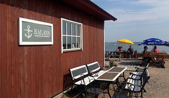 Kalana restorani asukoht