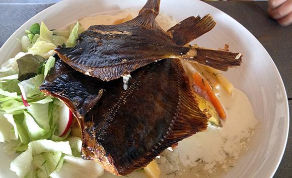 Kalana restoran Hiiumaal, praetud lestad