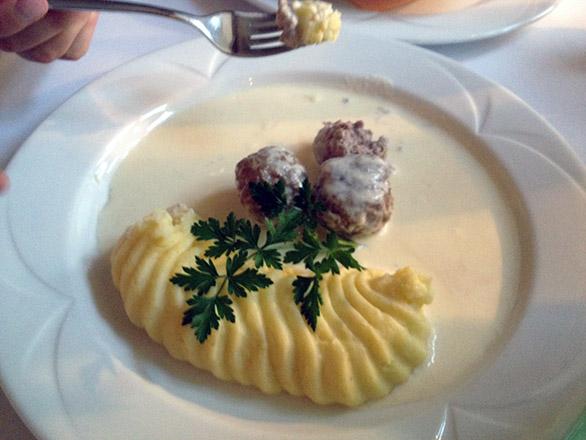 La Boheme restoran Vihula mõis lapsele menüü