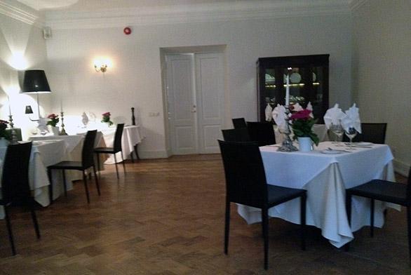 La Boheme restoran Vihula mõisas