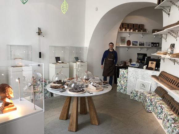 Meeleviljad šokolaadipood vanalinnas