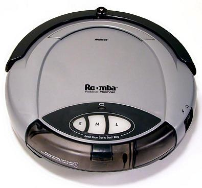 Robottolmuimeja Roomba Robotic Floorvac (2002)