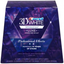 3D WHITE LUXE WHITESTRIPS PROFESSIONAL EFFECTS