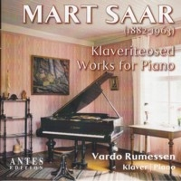 Mart Saar: Klaveriteosed / Works for Paino